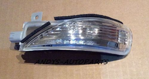 MAZDA 3 2011 - 2013 WING MIRROR INDICATOR LENS LH OR R/H AVAILABLE
